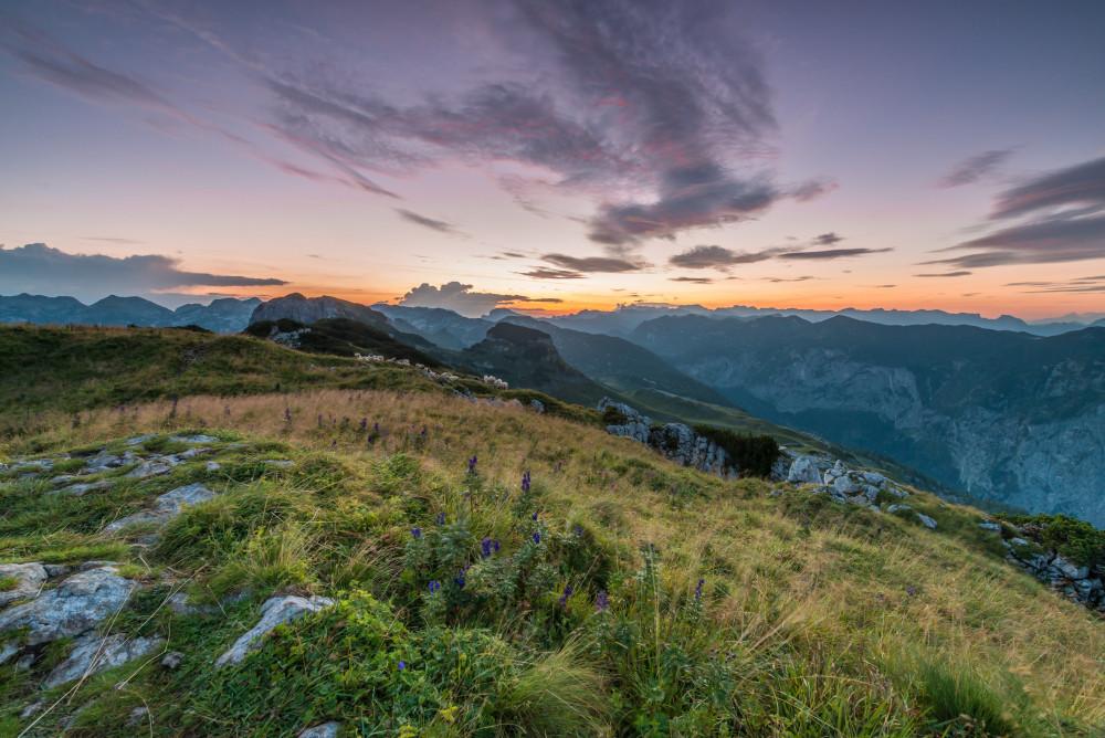Sonnenaufgang am Loser - Ausseerland Europa Highlight Himmel Natur Salzkammergut Steiermark Österreich