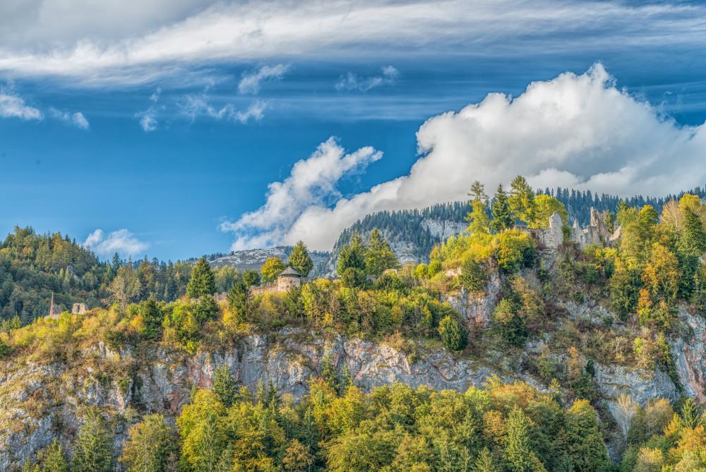 - Baum Bauwerke Ennstal Europa Himmel Holz Natur Pflanze Ruine Wolkenstein Ruinen Steiermark Wolken Wörschach Österreich