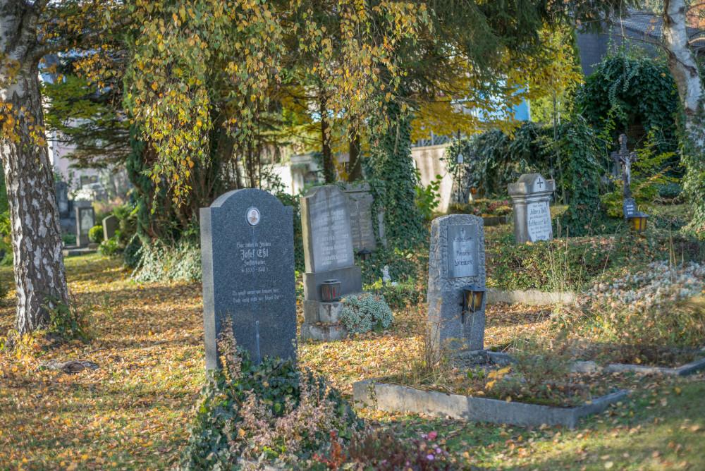 dokumentarische Bilder der Stadt Liezen - Architektur Baum Ennstal Europa Friedhof Grab Grabmal Grabstein Holz Innenstadt Liezen Natur Pflanze Religion Stadt Steiermark Stockfoto dokumentarisch Österreich