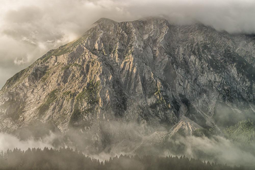 - Berg Europa Farblos Natur Steiermark Vulkan grau Österreich