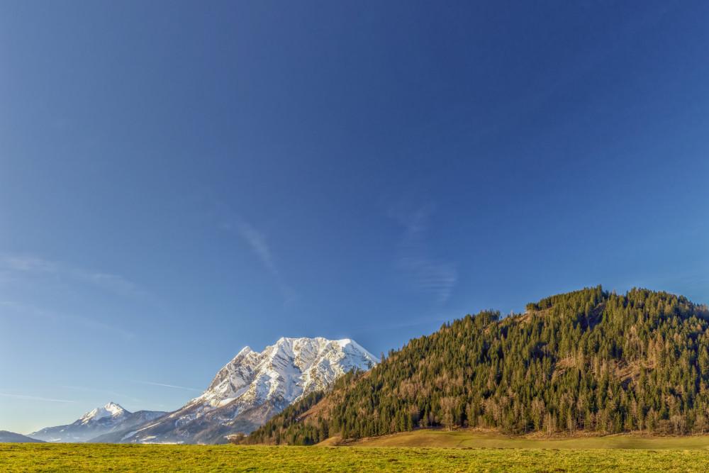 - Berg Grimming Grimming-Donnersbachtal Highlight Himmel Natur Wolken blau