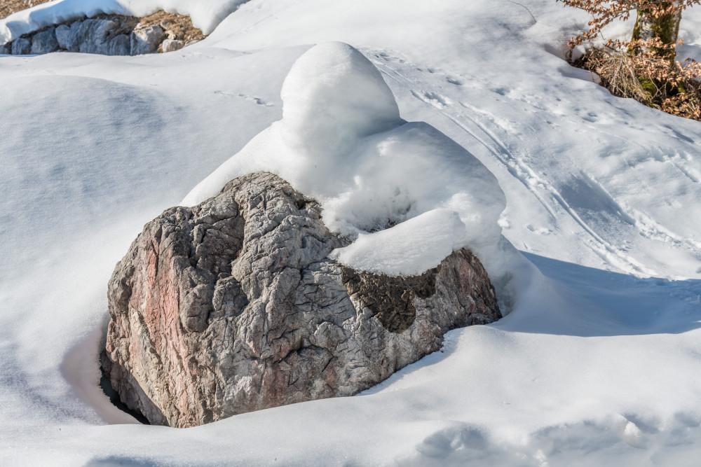 - Ausseerland Bildeigenschaft Europa Grundlsee Gössl Hell Jahreszeit Jahreszeiten Natur Salzkammergut Schnee Schneefigur Steiermark Ungesättigt Winter Zimitz grau Österreich
