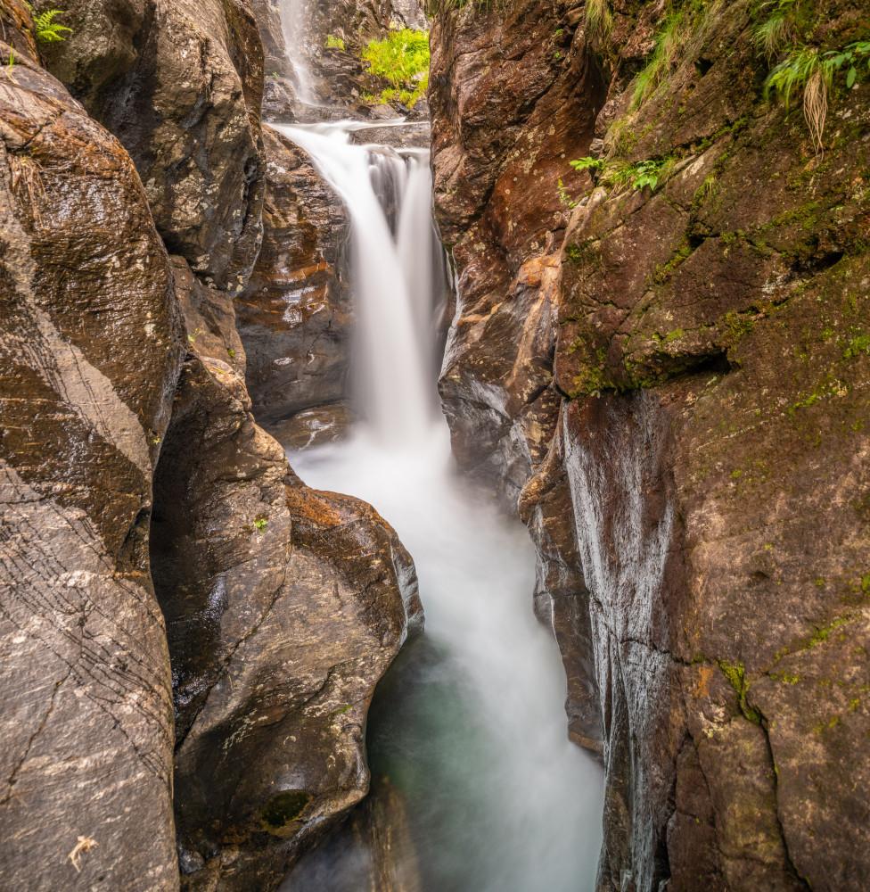 - Europa Gewässer Hochformat Natur Obertal Riesachfall Riesachsee Rohrmoos See Steiermark Wasser Wasserfall Österreich