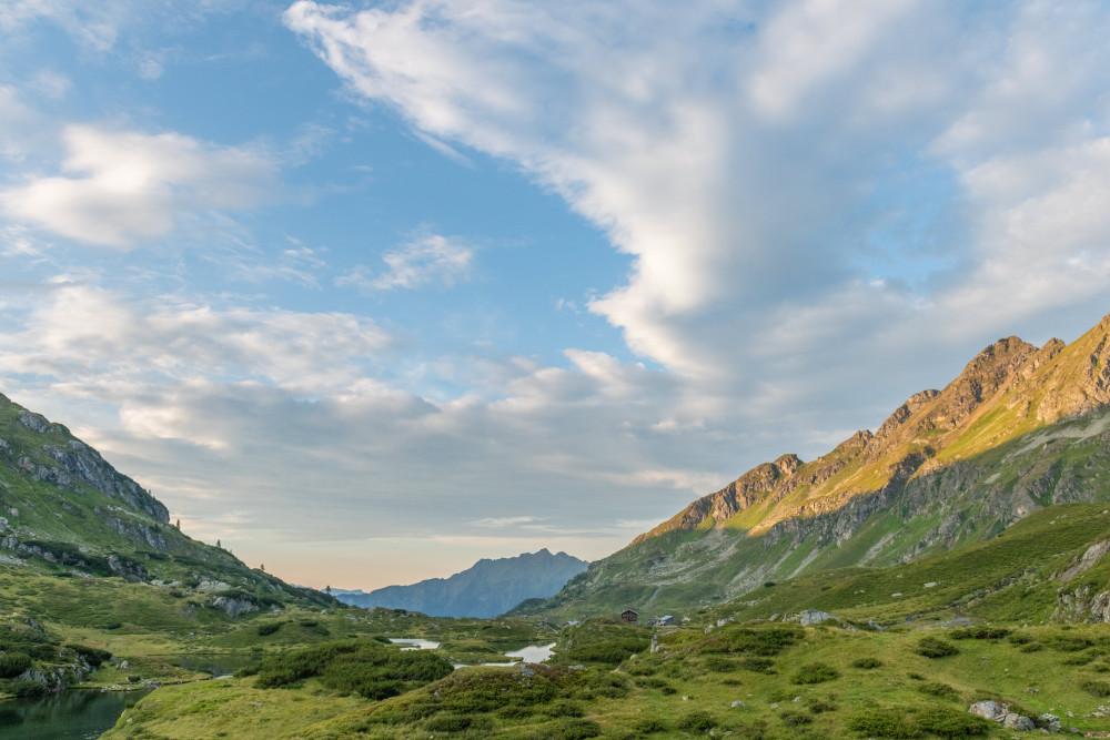 - Ennstal Europa Himmel Hochland Natur Schladminger Tauern Steiermark Wolken grau Österreich