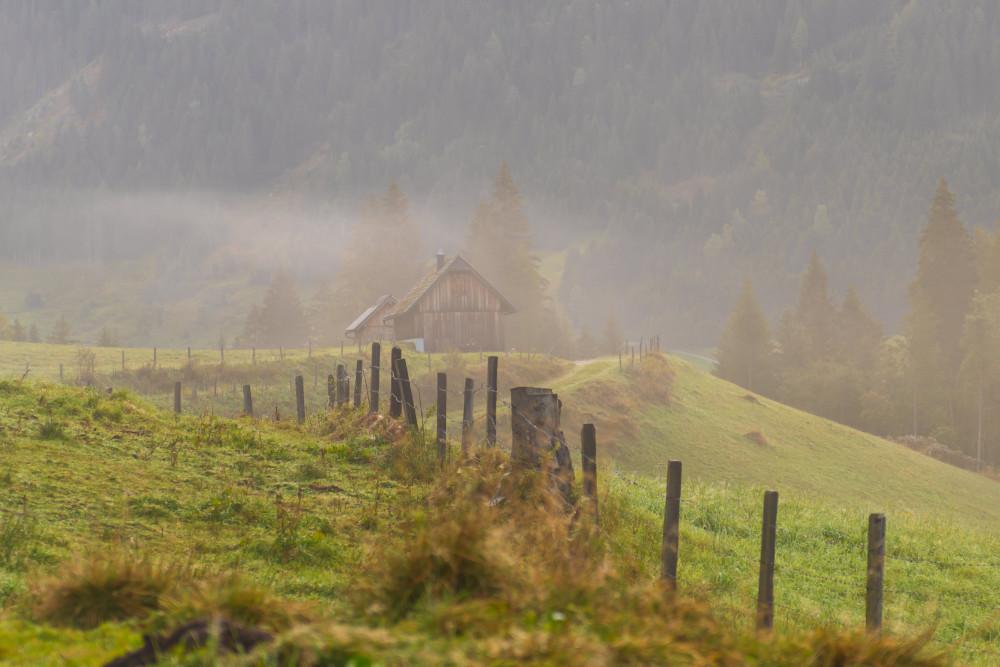 - Bildeigenschaft Bildinhalt Europa Großsölk Hochland Natur Steiermark Sölk Sölktal Sölktäler Ungesättigt grau Österreich
