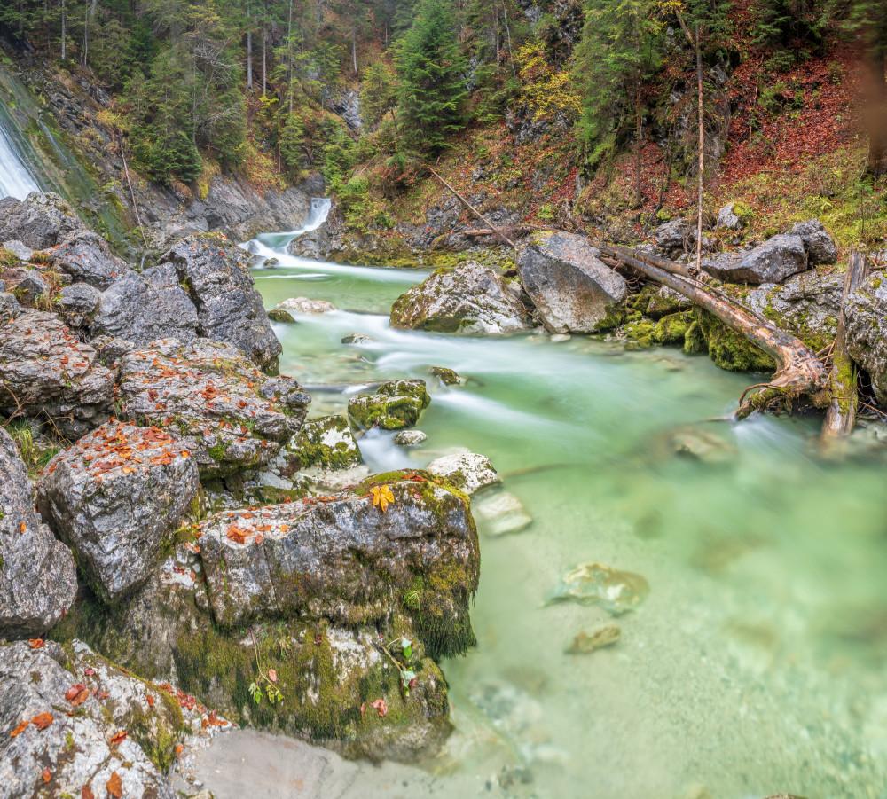 der Grimmingbach bei Tauplitz - Ausseerland Bach Europa Fluss Gewässer Grimmingbach Natur Salzkammergut Steiermark Tauplitz Wasser Österreich