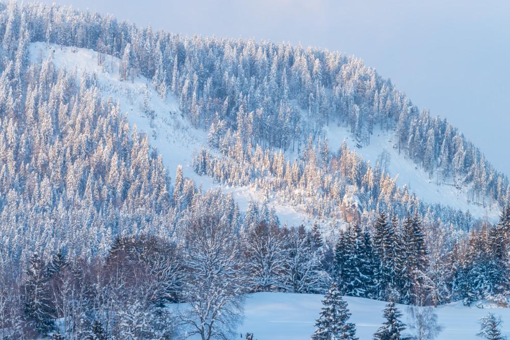 - Europa Hell Natur Schnee Steiermark Winter Österreich