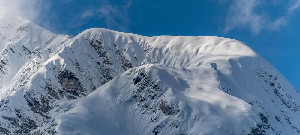 - Berg Grimming Multereck Natur Schnee Winter