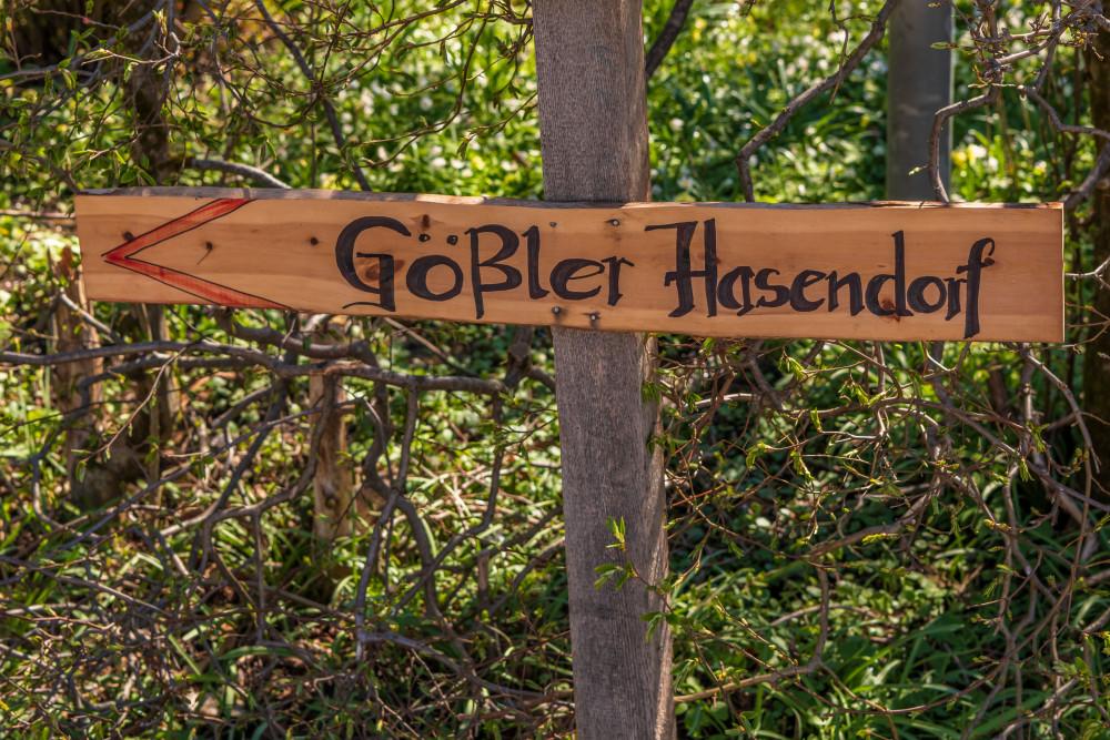Gößler Hasendorf - Ausseerland Baum Dunkel Europa Grundlsee Hasendorf Holz Natur Pflanze Salzkammergut Schild Steiermark Wald Österreich