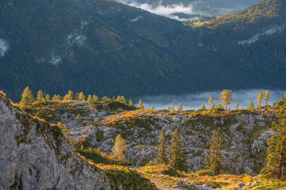 Auf der Tauplitzalm - Ausseerland Berg Europa Loser Natur Salzkammergut Steiermark grau Österreich