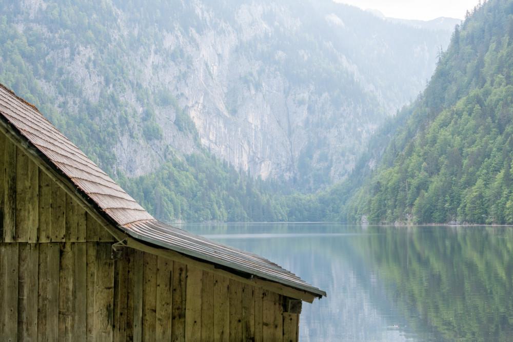 - Ausseerland Europa Gewässer Hell Kontrastreich Natur Salzkammergut See Steiermark Toplitzsee Wasser Österreich