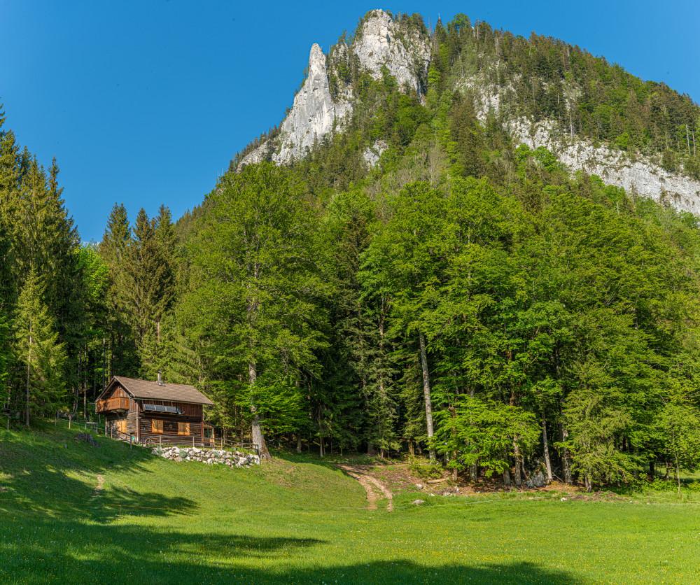 - Ausseerland Bad Aussee Berg Bärenmoos Bärnmoos Europa Natur Obertressen Salzkammergut Steiermark Tressenstein Österreich