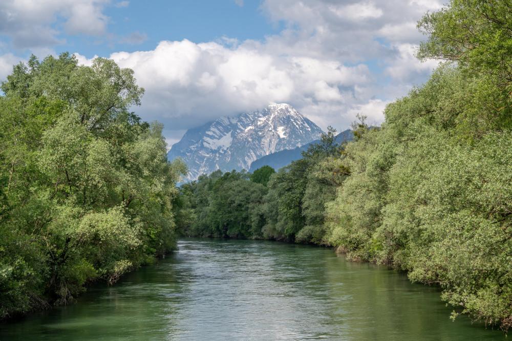 - Ennsbrücke Ennstal Europa Fluss Gewässer Natur Steiermark Wasser Österreich