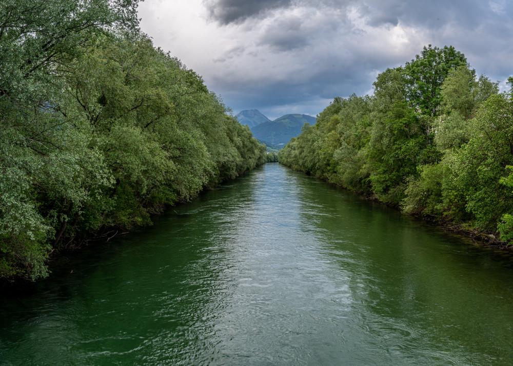 - Baum Ennsbrücke Ennstal Europa Fluss Gewässer Holz Natur Pflanze Steiermark Wasser Österreich