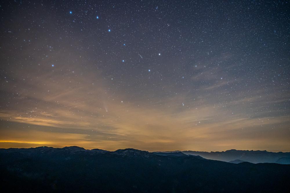 - Berg Dunkel Ennstal Europa Gröbming Gröbminger Land Gröbmingerland Nachthimmel Natur Steiermark Stoderzinken Österreich